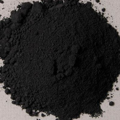 in the pigment powder l black pigment pigments