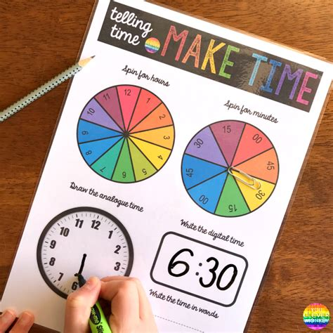 editable printable clock how to teach children to tell time you clever monkey