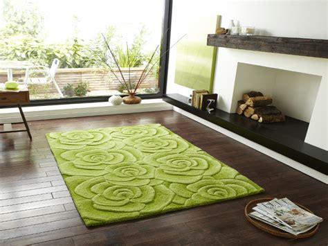 floral design hand tufted 100 wool rug large 3d rose
