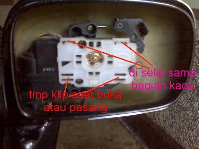 cara membuka spion elektrik zona auto