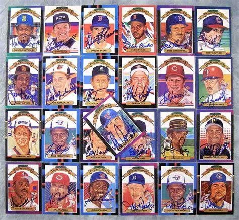 Baseball Gift Card - 1988 donruss autographed 10 julio franco diamond king indians