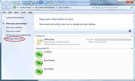 vista offline password reset vista reset offline folders