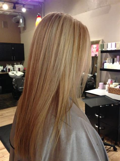 how to section hair for highlights and lowlights blonde with carmel lowlights long fine hair little