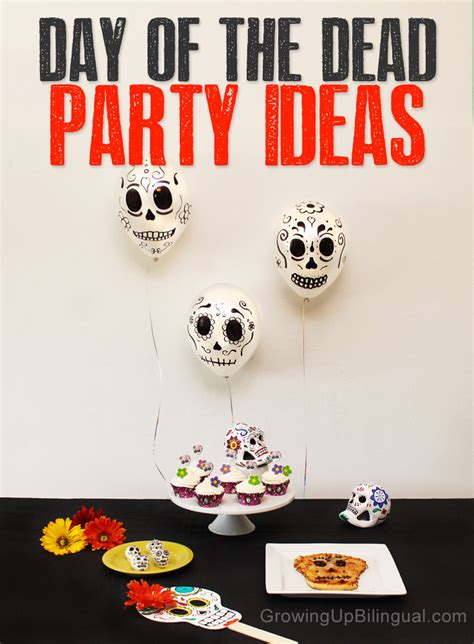 simple day ideas day of the dead decorations ideas