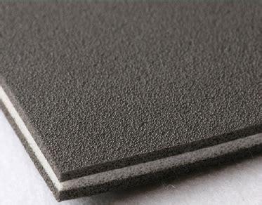 adhesive backed tri laminate 11mm rigid foam vehicle sound