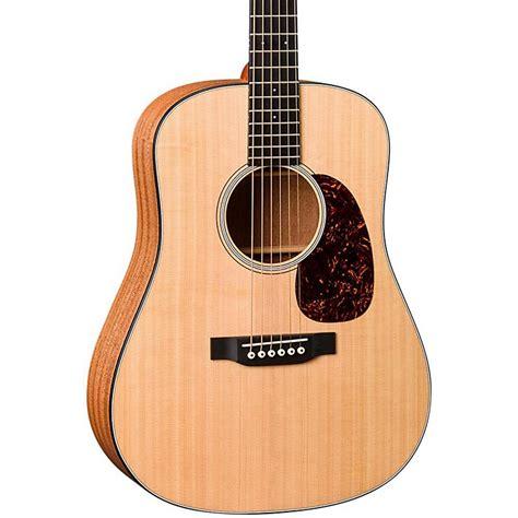 martin djre dreadnought junior acoustic electric guitar music123