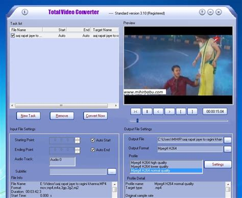 video format converter software total vedio converter with key free download free