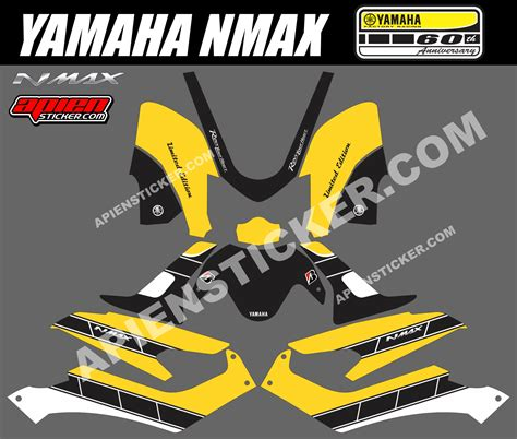 Termurah Sticker Striping Motor Stiker Yamaha Soul Gt Tribal Nofear S 1 nmax archives apien sticker