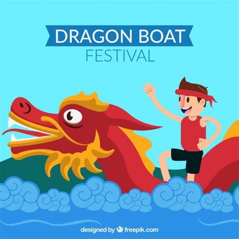 dragon boat festival 2018 images dragon boat festival background vector free download