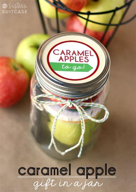 caramel apples to go teacher gift idea my sister s