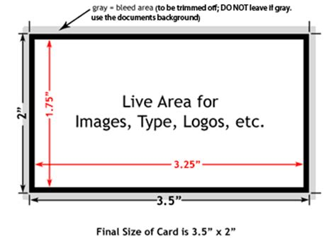 What Are The Dimensions Of A Business Card