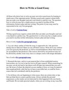 Ways To Write An Essay by How To Type An Essay
