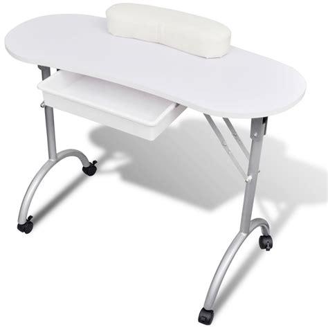 tavolo ricostruzione unghie pieghevole tavolo manicure pieghevole tavolino portatile