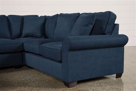 laf sofa quinn 2 piece sectional w laf sofa chaise living spaces