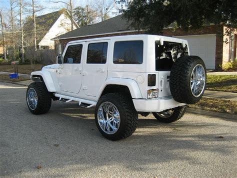 jeep rubicon white lifted lifted white jeep wrangler rubicon imgkid com the