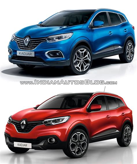 2019 Renault Kadjar by 2019 Renault Kadjar Vs 2015 Renault Kadjar Vs New