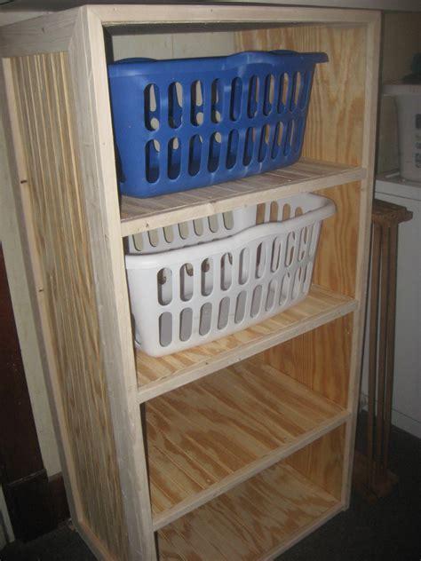 diy laundry basket dresser frugal and easy thifty sue