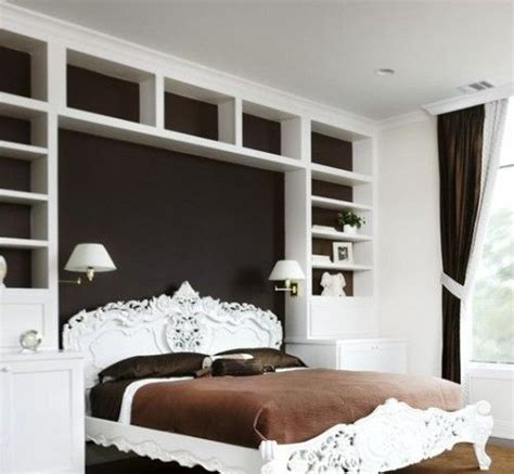 instead of a headboard great book shelves instead of a headboard it would free