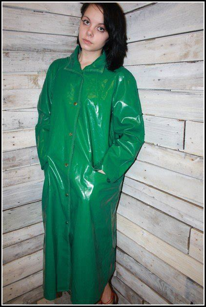 raincoat discipline raincoat discipline green pvc raincoat green raincoat