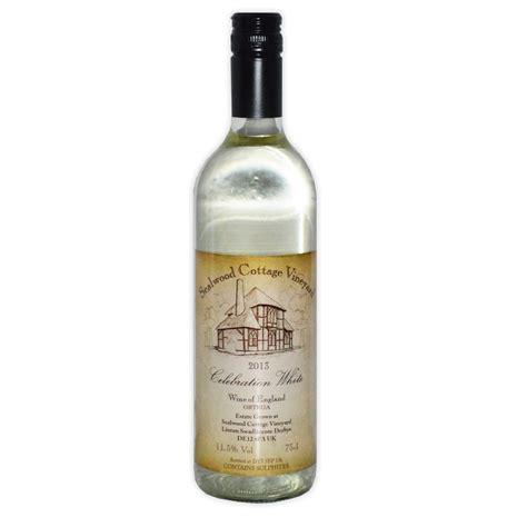 Cottage Wine by Sealwood Cottage Celebration White Ortega Grape