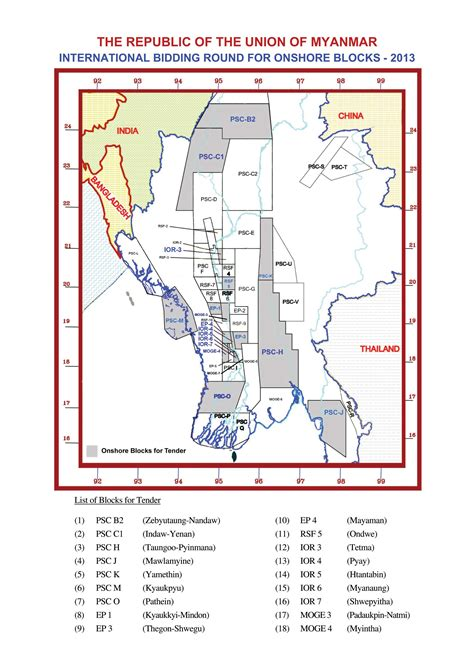 10 Foreign Firms Win Bids for Onshore Blocks   Myanmar Business Today