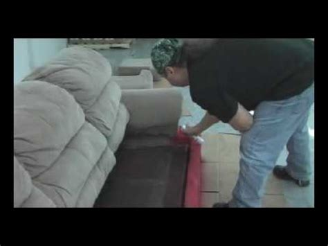 How To Dye Upholstery by How To Paint A Sofa With Fabric Spray Paint