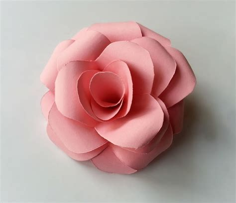 Roses Paper Craft - diy paper 183 how to make a flowers rosettes