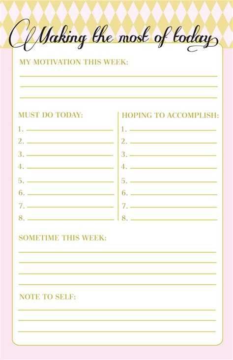 printable to do list design in honor of design free printable making the most of