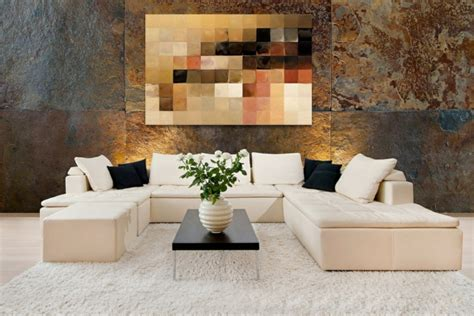 feng shui bilder aufhängen wanddekoration ideen die moderne kunst als akzent