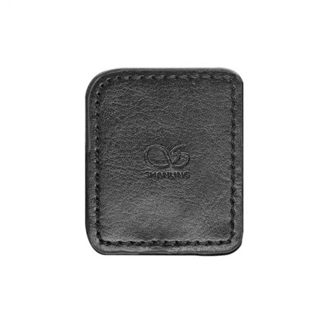 Leather For Shanling M1 shanling cover synthetic black leather protection for