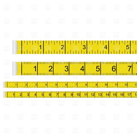 typography measure measure 1278 design elements royalty free