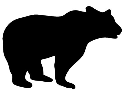 free clipart silhouette animal silhouettes clipart best