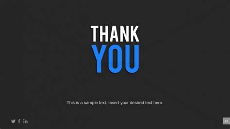 thank you powerpoint template business powerpoint template thank you page slidemodel