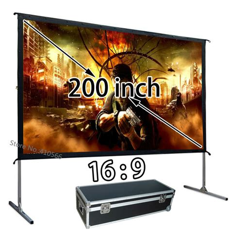 Screen Projector Fixed Frame World 84 Inci 3d Silver best price hd projection screen 84 inch 16 9 ratio curved fixed frame projector fabric wholesale