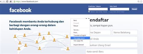 membuat login with facebook cara membuat phising fake login facebook squad dark