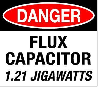flux capacitor gigawatts 1 21 jigawatts journal