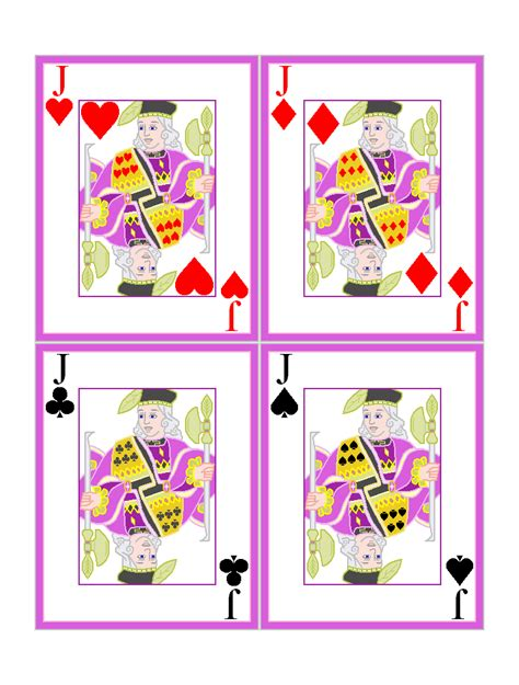 printable playing card games 6 best images of printable playing card games printable