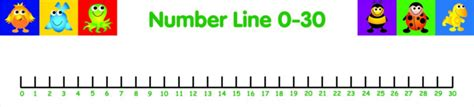 printable number line 1 30 common worksheets 187 number line 1 30 printable preschool