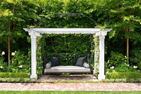 small metal swing sets 5 easy ways to create a relaxing garden getaway