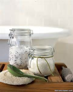 bathtub salts homemade bath salts martha stewart
