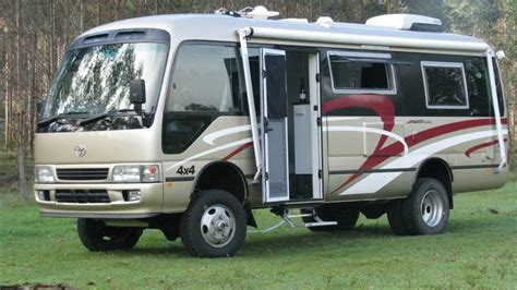Home Interiors Inc by Bus 4x4 Motorhome Conversion Of Toyota Coaster