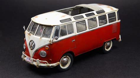 The Samba Volkswagen by Revell 1 24 Vw Samba T1