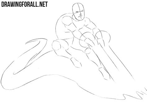 Feature Step Outline by How To Draw Iceman Drawingforall Net