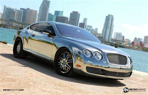 chrome bentley chrome bentley by metro wrapz autoevolution