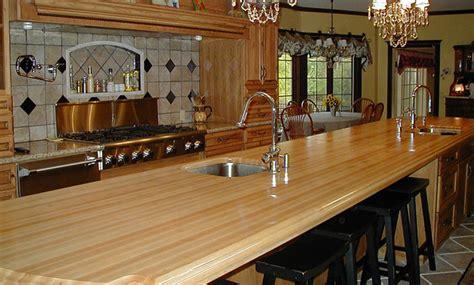 kitchen island maple maple wood kitchen island countertop with bar and sink jpg