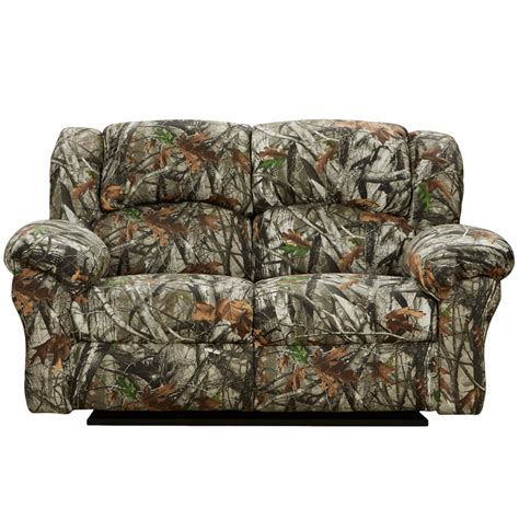 Exceptional Designs Next Camouflage Fabric Reclining Camo Reclining Sofa
