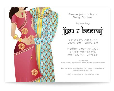 indian baby shower invitation cards templates best 25 indian baby showers ideas on