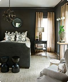 dark gray accent wall from thrifty decor chick dream dream dream on pinterest dark walls guest rooms