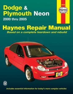 haynes repair service manual dodge plymouth neon 1995 dodge neon srt4 laid back dodge neon and red heads