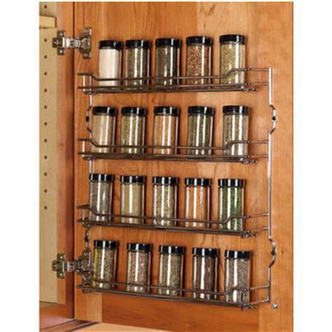 Spice Rack Door Mounted Spice Racks For Cabinets